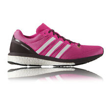 Adidas Adizero Boston Boost 5 Womens Cushioned Running Sports Shoes Trainers