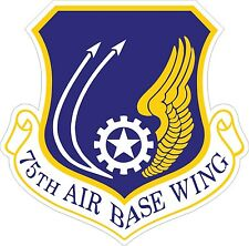 US Air Force USAF 75th Air Base Wing Decal / Sticker