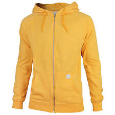 Volcom Timesoft Ultra slim Zip Hoody Men's Pullover yellow Size XL