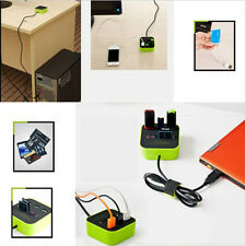 Fine USB 2.0 HUB with Multi-card Reader Combo for SD/MMC/M2/MS MP-All In One New
