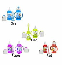 Nuby Infant Printed Bottle Feeder Set UL1560 Select Your Color - Brand New Item