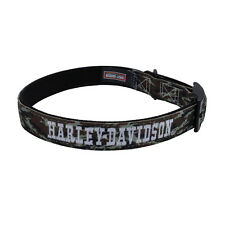 Harley-Davidson® Camo Embroidered Nylon Collar- Genuine*** ALL Sizes Available!