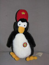 DAYTON HUDSON MARSHALL FIELD'S FIELDS CAPTAIN JINGLE 1988 STUFFED PLUSH PENGUIN