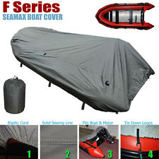 Seamax Inflatable Boat Cover, F Series for Beam 7.6-8.4ft, Length 18-24ft