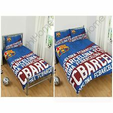 FC BARCELONA IMPACT DUVET COVER SETS SINGLE & DOUBLE AVAILABLE OFFICIAL FREE P+P