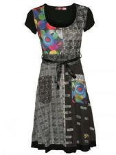 Stylish DESIGUAL Women's Designer Dress Izzy in Black Black New in Package