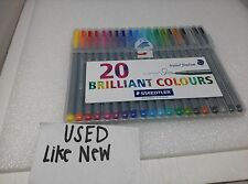 Triplus Fineliner 20 Brillant Colours Staedtler