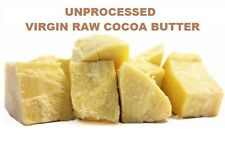 Indonesia Raw Cocoa Butter NATURAL UNPROCESSED FRESH COCOA  2 oz to 55 lbs