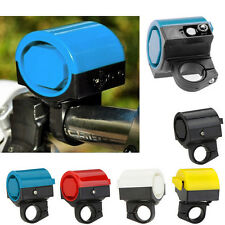 Wonderful Electronic Loud Bike Horn Cycling Handlebar Alarm Ring Bicycle Bell FM