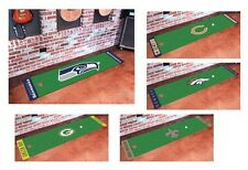 New NFL Team Logo Football Themed Golf Putting Green Floor Runner Carpet Mat Rug