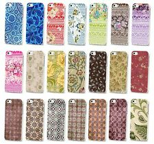 NEW PRETTY FLOWER FLORAL VINTAGE PAISLEY RETRO HARD CASE COVER FOR IPHONE 4 & 5