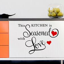 Removable Wall Sticker Vinyl Quote Mural Home Art Living Room Decal Decor DIY AY