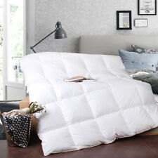 Warm White Goose Down Comforter Full Size,100% Cotton Fabric,800Fill Power,600TC