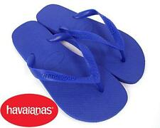New Havaianas Top Classic Flip Flops Sandals Slip On Flats Shoes Women Lady Blue