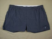 NWOT Polo Ralph Lauren Blue Check Boxer Shorts Mens Big & Tall Sizes 100% Cotton