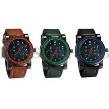 Mens Quartz Wrist Watch Sport Tactical Military Army Nylon Band Analog Watch