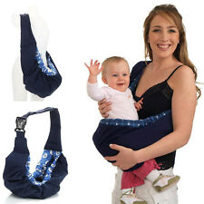 New born Infant Baby Toddler Native Cradle Pouch Ring Sling Carrier Kid Wrap Bag