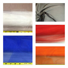 Discount Fabric Choose Your Color Crystal Organza Sheer OR