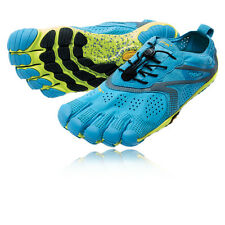 Vibram Bikila EVO Mens Blue Five Fingers Running Road Sports Shoes Trainers