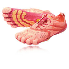 Vibram Bikila EVO Womens Red Orange Five Finger Running Sports Shoes Trainers