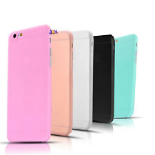 Jelly Candy Colour Rubber Plastic TPU Back Case Cover For iPhone 6 6s Plus