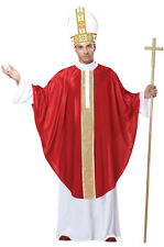 Brand New The Holy Pope Catholic Church Priest Father Bishop Adult Men Costume