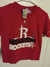 Youth Houston Rockets Red Majestic Team Gameface T-Shirt S M L