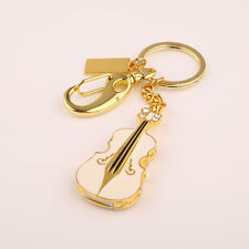 New Metal Violin Keyring 8G 16G 32GB USB 2.0 Memory Stick Flash Drive Pen Drive