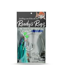10 Snapper Rig Pack Steel Carbon Hook Paternoster FLasher Rg Mixed Gift Pack