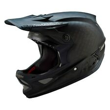 Troy Lee D3 Carbon Helmet Midnight Black - Full Face Downhill DH Mountain Bike