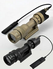 Tactical Light M952V Flashlight Dual Output LED Weaponlight For Hunting(BK/DE)