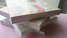 FULL or SAMPLE PACK 6x6 Paper Pad, Dovecraft, First Edition, Shabby Chic