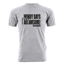 Skydiving Shirt - Windy Days Are Awesome. Said No Skydiver Ever T-shirt!