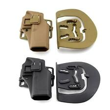 Quick Tactical Right Hand Paddle Waist Pistol Holster f/ Glock 17 19 22 23 31 32