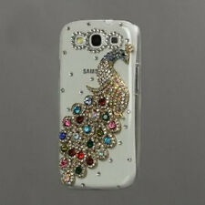 Rhinestone and Diamond Bling Peacock Crystal Case for Samsung Galaxy S3 I9300 DW