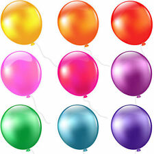 "10"" INCH LATEX HELIUM QUALITY BALLOONS FOR PARTY WEDDING BIRTHDAY 20 COLOURS"