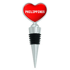 Red Heart Love Wine Bottle Stopper Country Na-Rw