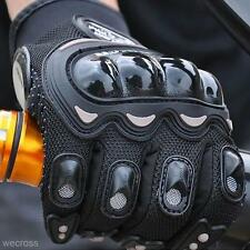1Pair Cool Adults Motorcycle Racing Antiskid Windproof Full Finger Gloves Glove