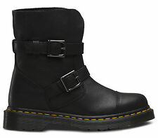 New and GENUINE Dr Martens docs womens KRISTY VIRGINIA BLACK leather 20345001