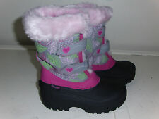 Skechers Girl's LIL FROST-COLLECTABLES Boots 88579 GYPK ( H 5 )