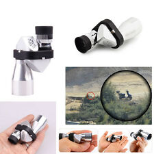 Mini Compact Pocket 8x20 Aluminum Monocular Telescope Camping Outdoor Hiking