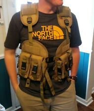 Combat Tactical Vest W/ Removable Hydration Pouch M4 and Larger Mags  Airsoft