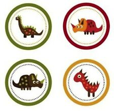 Retro Dinosaurs Edible Cupcake Toppers Decoration