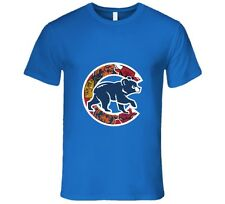 Chicago Cubs T Shirt Mens Fit Chicago Teams Bulls Bears Blackhawks Gift Tee New