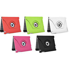 The New iPad 2/3/4 360 Degrees Rotating PU Leather Smart Cover w/Swivel Stand