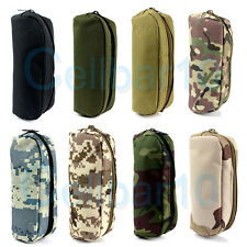 Tactical Molle Portable Sunglasses Case Eyeglasses Bag Outdoor Glasses Pouch Y