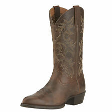 Ariat Mens Heritage Western R Toe Wicker Cowboy Boot 10015357