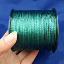 500M Super Strong Agepoch Dyneema Spectra Braid Sea Fishing Line PE Moss Green