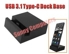 USB 3.1 Type-C Dock Charger Charging Desktop Cradle Station for Mobile Phones