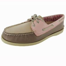Sperry Top-Sider Womens 'A/O 2-Eye Tri-Tone' Boat Shoe